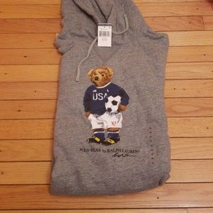 Polo Ralph Lauren bear hoodie